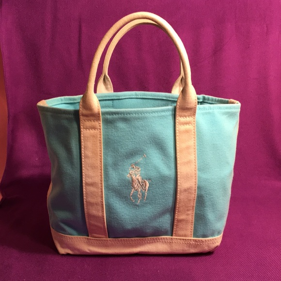 Polo by Ralph Lauren Bags   Polo Pony Large Canvas Tote   Poshmark 4dca1ddc0f